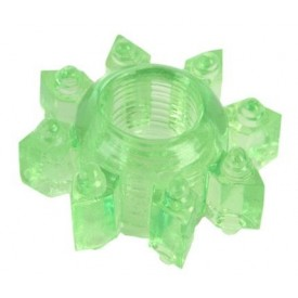 Зеленое эрекционное кольцо-звезда